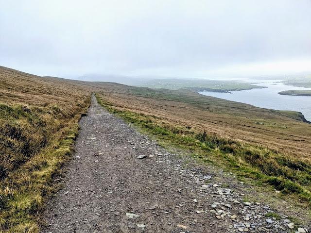 Bray Head Loop Trail on Valentia Island Ireland