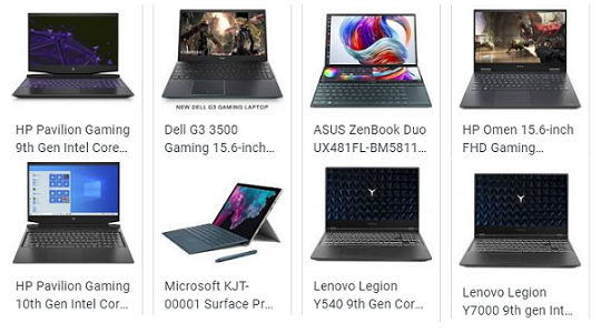 Top Gaming Laptops in India