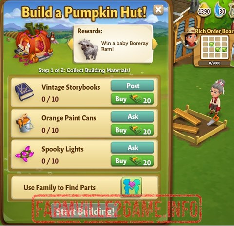 Pumpkin Hut