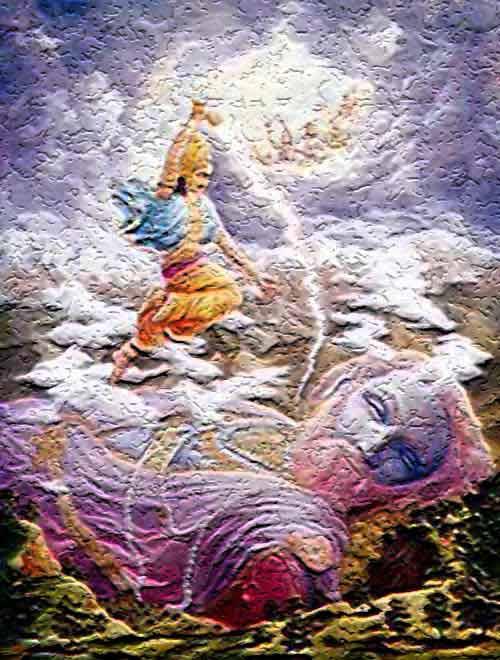 The Seven Seas in Puranas and Hindu Scriptures