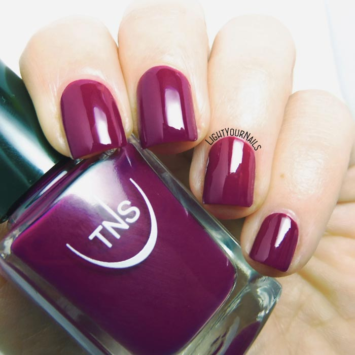 Smalto viola TNS 533 Bon Ton (Bon Ton 2018) purple nail polish