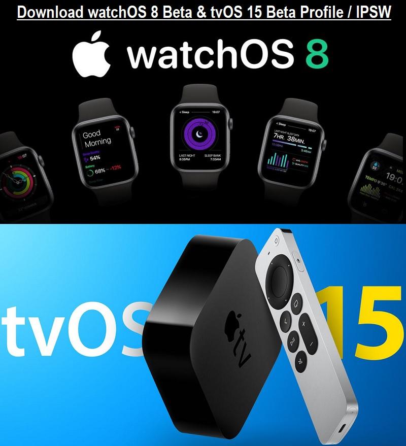 Download watchOS 8.1 Beta Profile