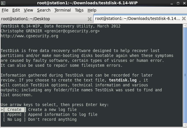 testdisk pour linux