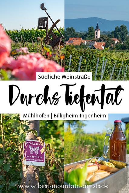 Durchs Tiefental bei Mühlhofen | Wandern Südliche Weinstraße | Billigheim-Ingenheim | Wanderung Pfalz 31