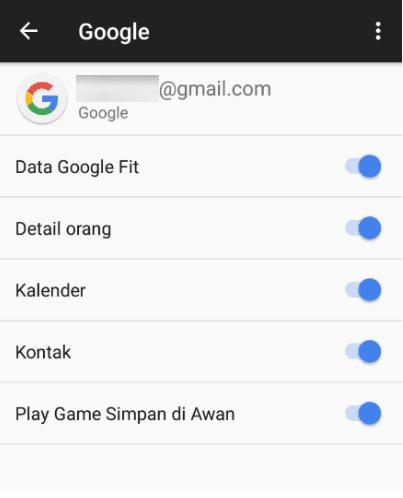 Mengetahui Gmail Android