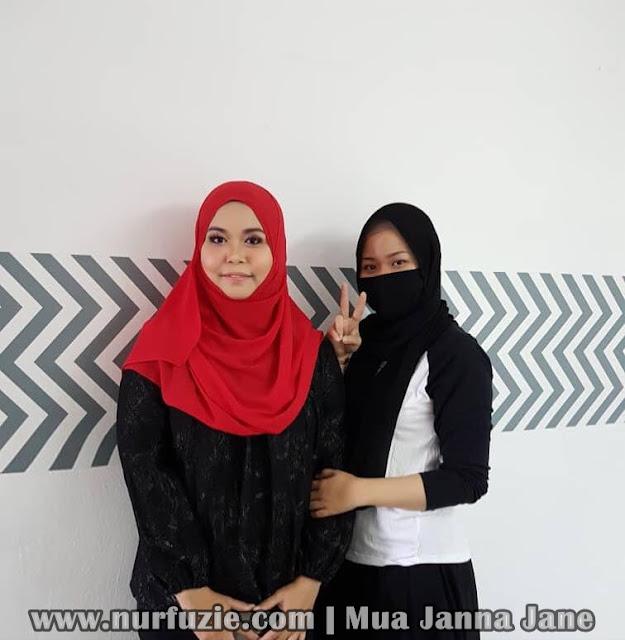 MUA Janna Jane Manjung
