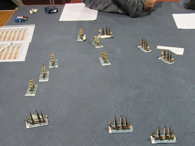 langton Napoleonic naval seems wargames club essex