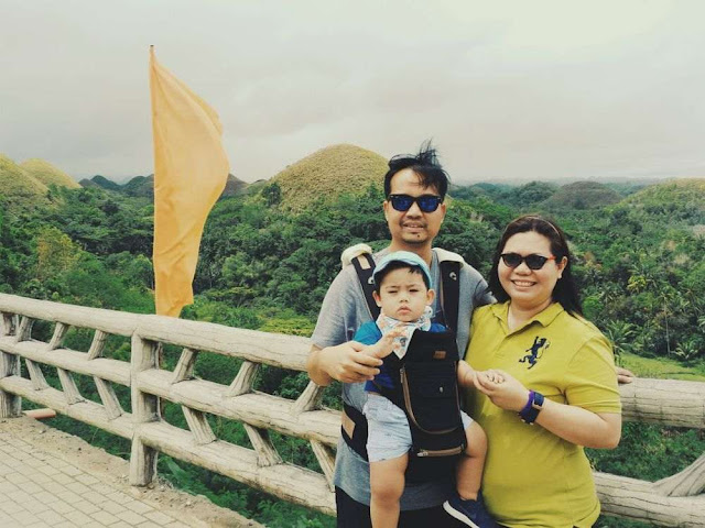 Traveling with a baby in Bohol