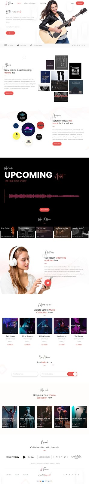Online Music Store Shopify Theme
