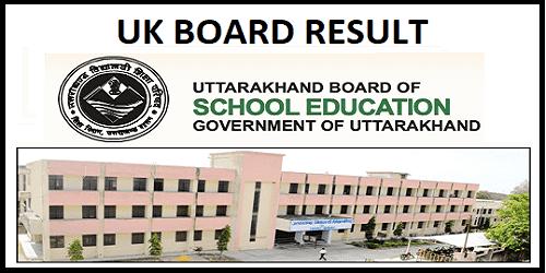 UBSE Uttarakhand Class 12th Result 2020