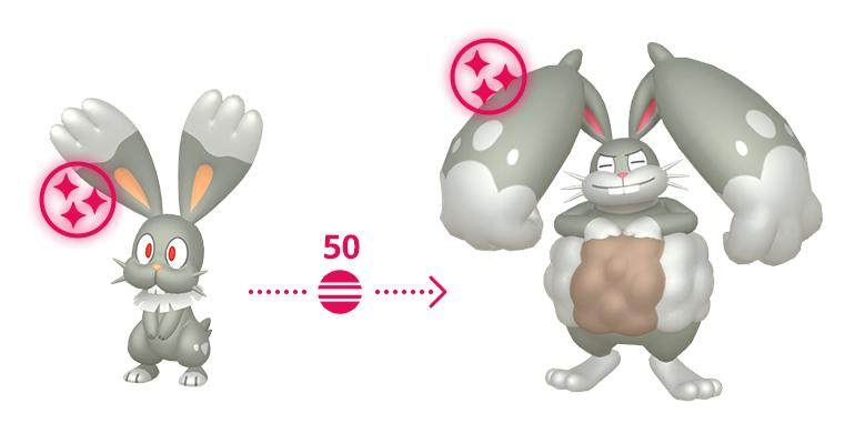 Bunnelby Brilhante Pokémon GO