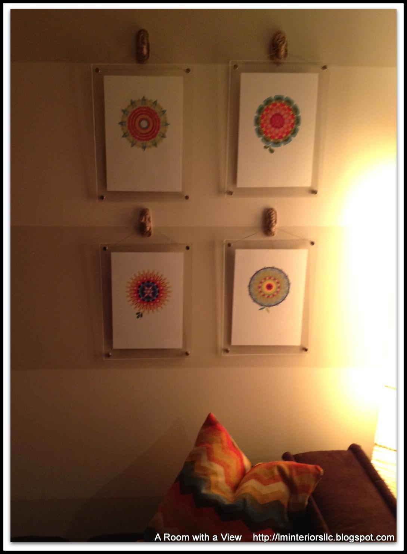 frames for the artwork - Muji Frames