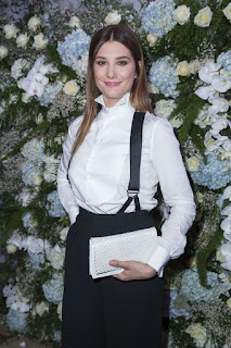 French actress Alice Pol Sidaction Gala Dinner in Paris