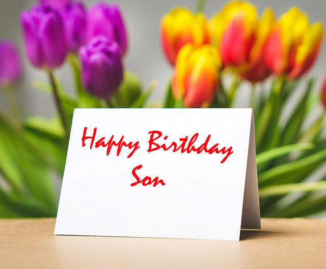 funny birthday wishes for son name