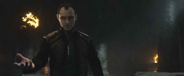 Jude Law (Vortigern) dans Le Roi Arthur : la légende d'Excalibur