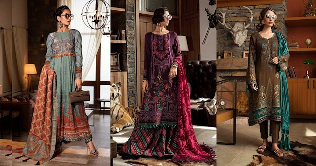 Maria B Winter Dresses | Upcoming Collection 2020
