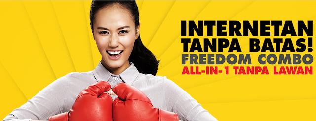 Daftar Paket Internet Indosat Terbaru Freedom Combo