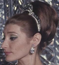 emerald diamond tiara iran princess soraya pahlavi shahnaz