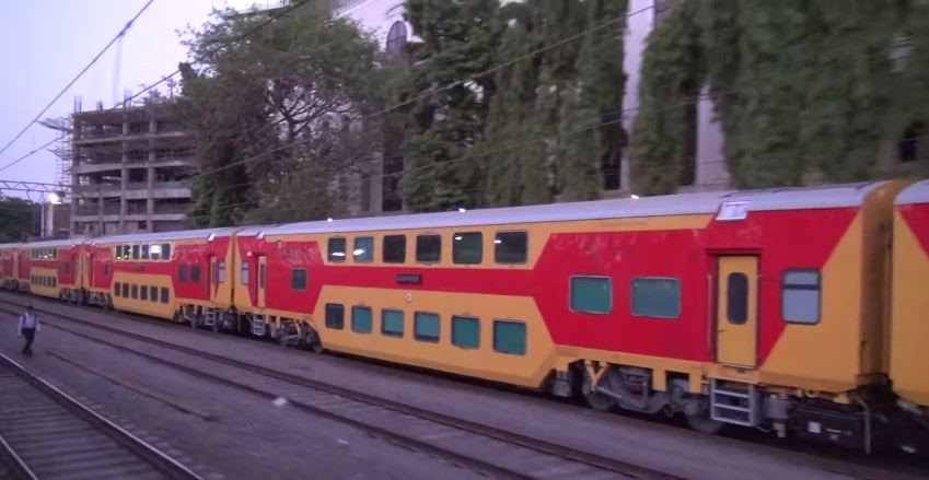double decker train india