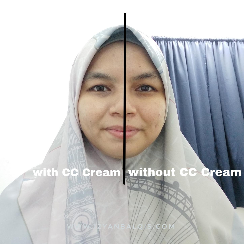Cara Pakai & Fungsi CC Cream Yang Ada SPF Dari Hansaegee Nature