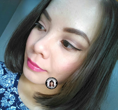 MOTD: Neutral Eyes with Brave Fushia Lips