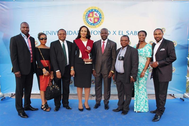Ambassador Bianca Ojukwu bags masters degree in Spain