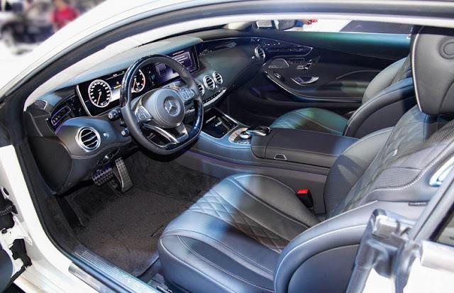 Không gian nội thất Mercedes S500 4MATIC Coupe 2017 vô cùng sang trọng, đẳng cấp