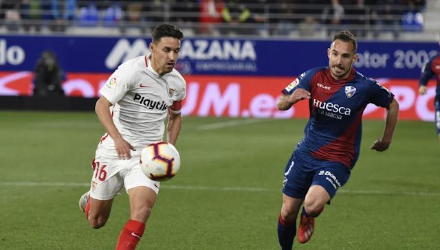 Precedentes Sevilla FC Huesca