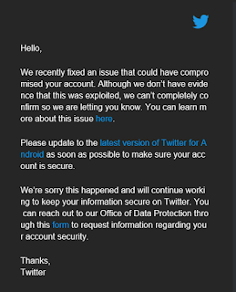 Twitter App Update