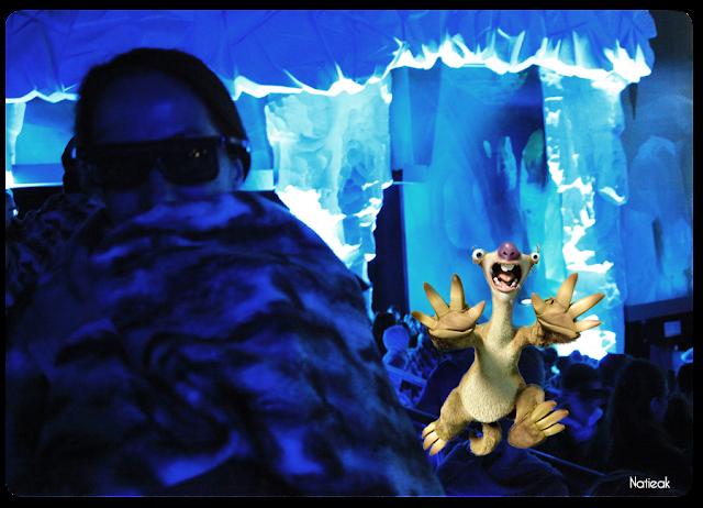 Age de glace Le temps des dinosaures 4D  du Futuroscope