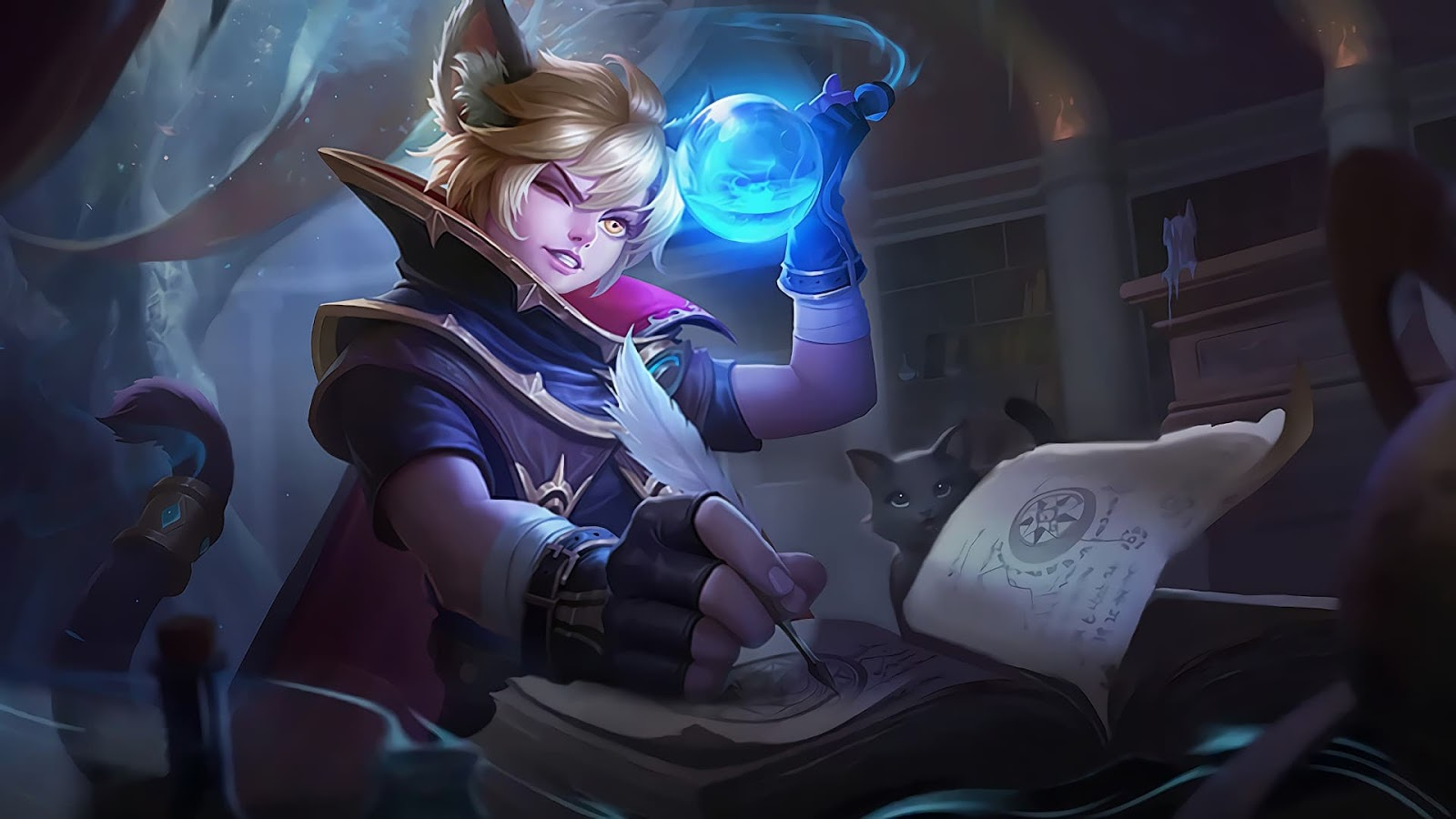 Wallpaper Harith Stardust Skin Mobile Legends HD for PC