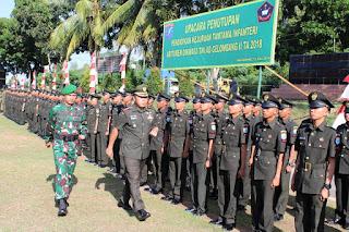 Danrindam XII/Tpr : Prajurit Infanteri adalah Penjaga Kedaulatan NKRI
