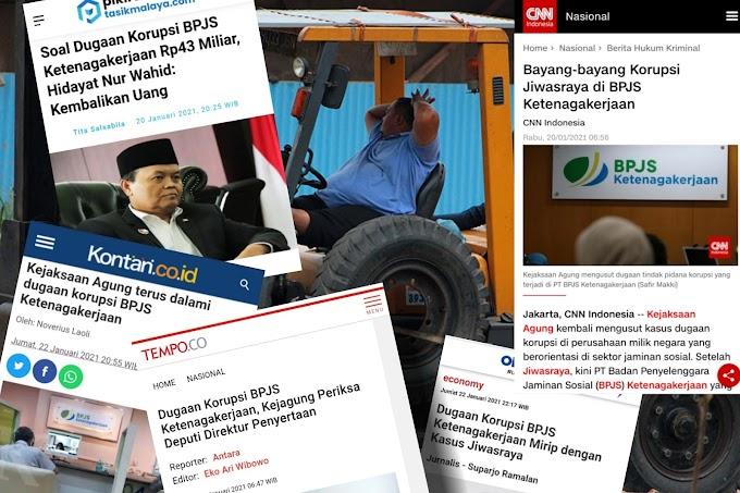 Perasaan Buruh Saat Baca Berita Dugaan Korupsi BPJS Ketenagakerjaan