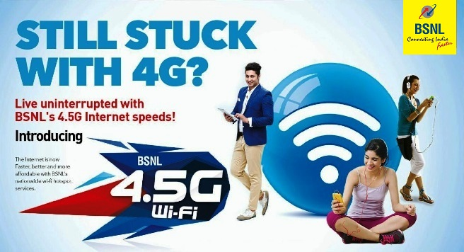 BSNL WiFi Services Explained : BSNL 4G Plus, BSNL Broad Fi and BSNL Public WiFi Services with tariff as low as Rs 2.3 per GB