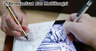 Bermanfaat dan Multifungsi merupakan salah satu manfaat dan kelebihan pulpen stylus