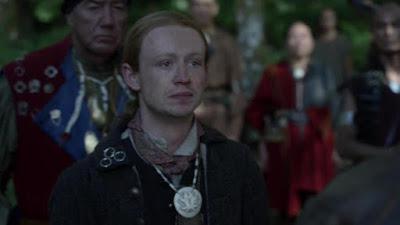 Ian comunica a su tío Jamie que se queda con los Mohawk
