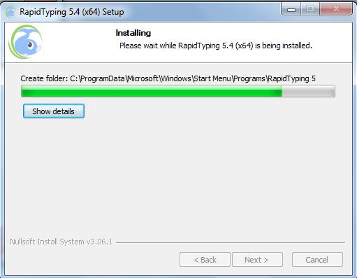 Hướng dẫn cài đặt phần mềm Rapid Typing 5.4 64bit mới nhất e