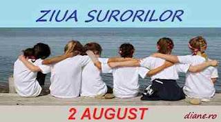 2 august: Ziua Surorilor