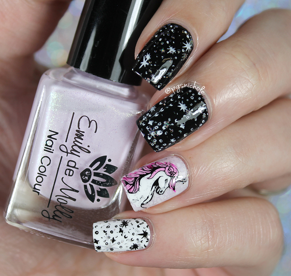 Bedlam Beauty: Unicorn Decal Nail Art
