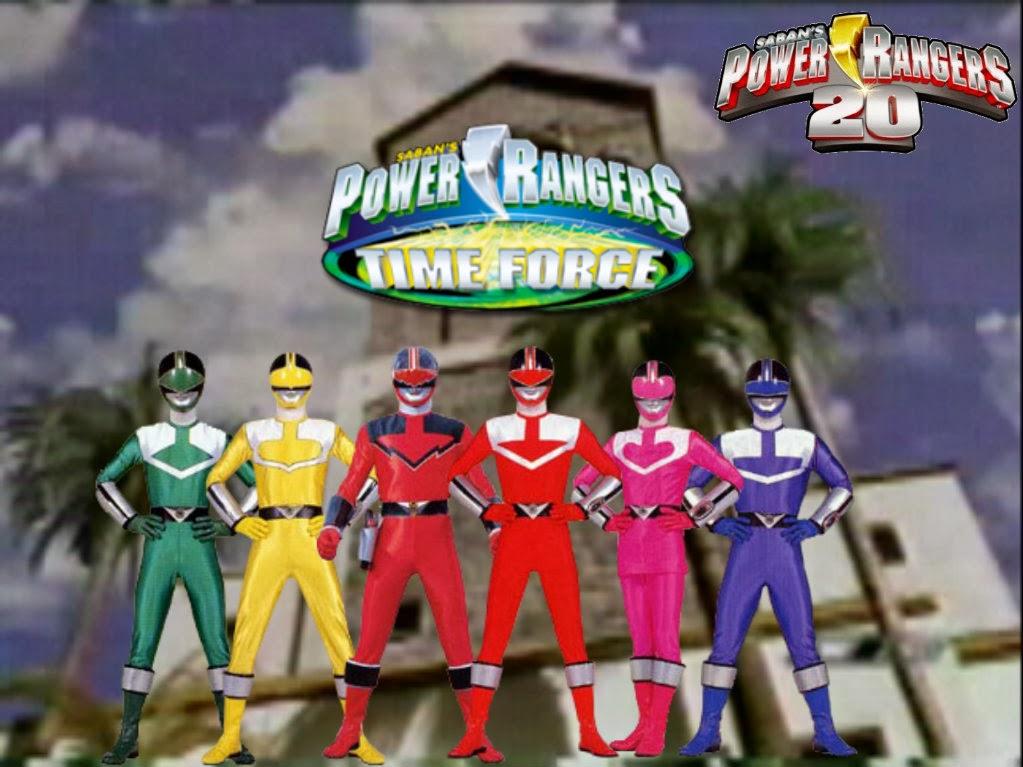Ver Power Rangers Fuerza de Tiempo Capitulo 2 Online Latino