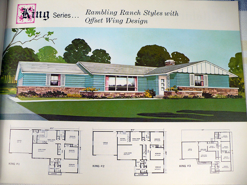 Vintage Goodness 10 MidCentury Houses And Floor Plans Majestic – Majestic Homes Floor Plans