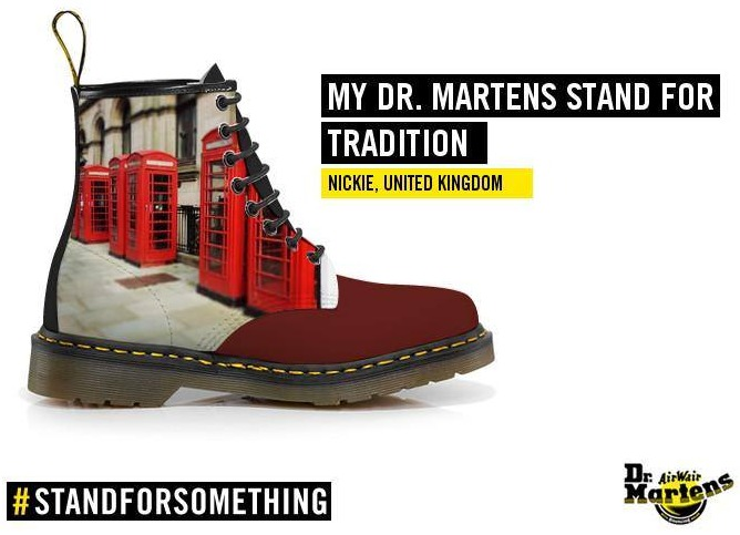 65725db98e My Dr Martens Stand For Lancashire - Typecast