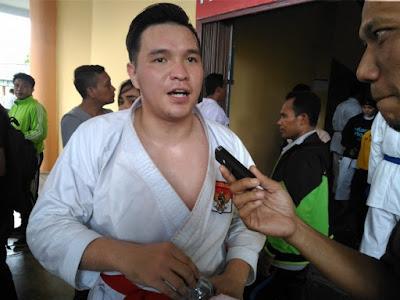wow...Kalahkan Juara Dunia, Karateka Jambi Sumbangkan Emas