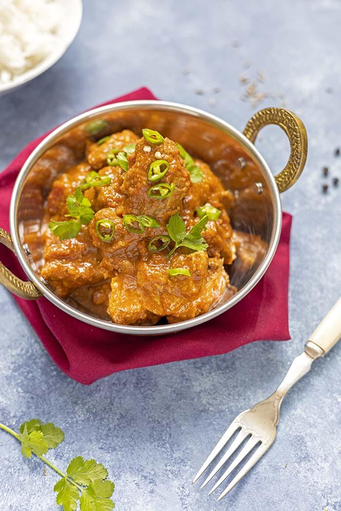 wieprzowina vindaloo kuchnia indyjska