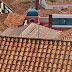 um telhado recuperado no Convento de Santa Clara
