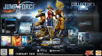 """""""Jump Force"""" anuncia su fecha de lanzamiento y su edición coleccionista."""