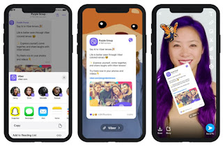 Snapchat-Filter werden in Viber angezeigt 2