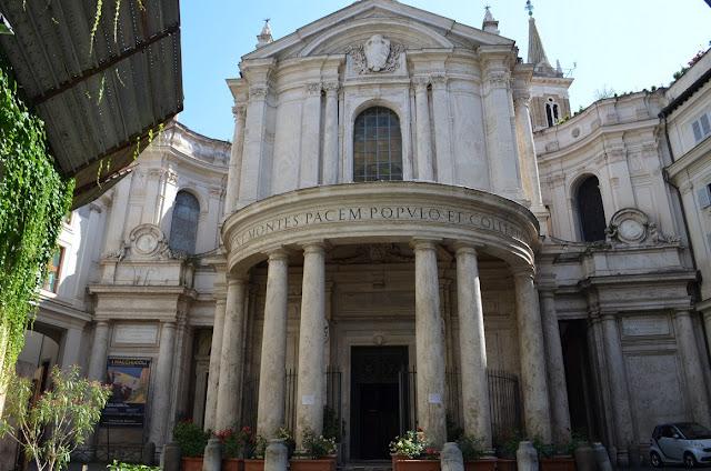I Viaggi Di Raffaella Un Gioiello Del Barocco Romano La Chiesa Di