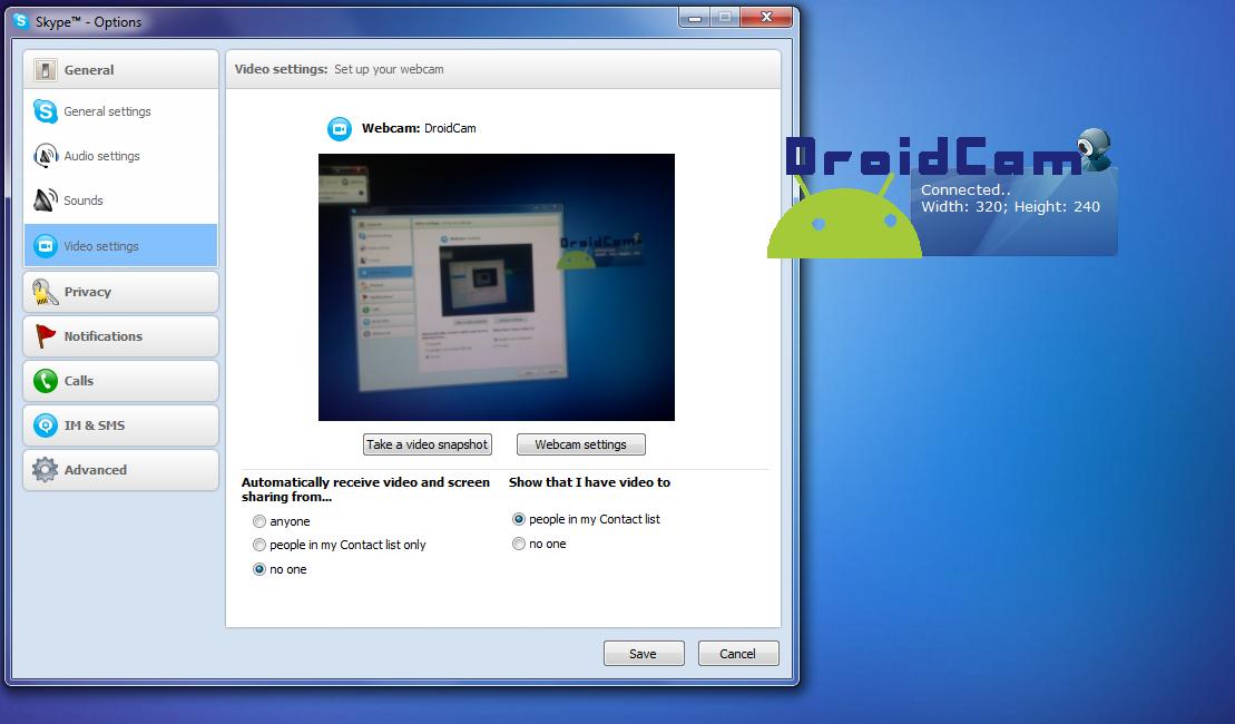 Usare lo smartphone come webcam per PC (Android o iPhone)
