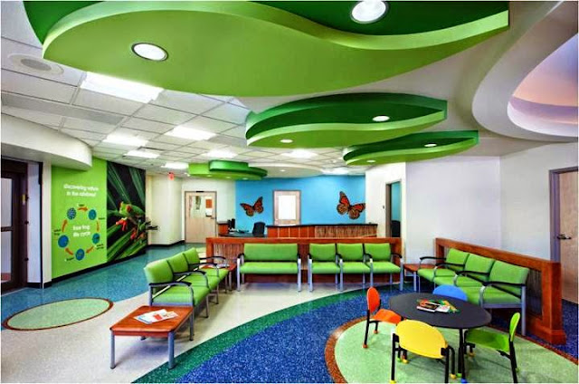 wall colors for pediatric office